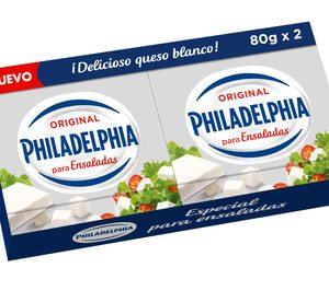 Mondelez lanza una nueva versión de Philadelphia Ensaladas