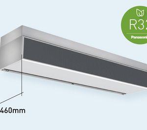 Panasonic anuncia una nueva cortina de aire con batería de expansión directa