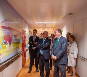 Carburos Metálicos y Fundación curArte humanizan el Hospital San Pedro de Logroño
