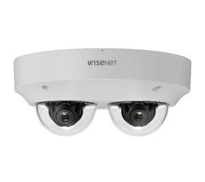 Hanwha Techwin presenta su nueva cámara multidireccional de vigilancia