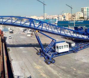El tráfico portuario de mercancias crece un 2% en el primer semestre