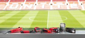 Remington lanza productos para el cuidado personal con el Manchester United