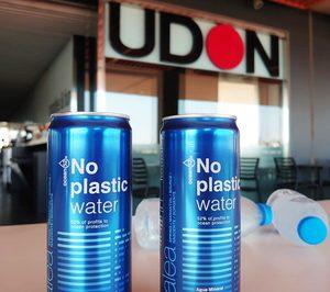 La cadena de restauración Udon prescinde del plástico en sus bebidas