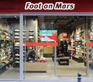 Foot on Mars' inaugura su primera flagship store en Zaragoza