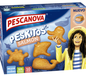 Pescanova lanza salmón dentro de su gama infantil Peskitos