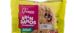 Santiveri sitúa las galletas como producto estratégico de futuro