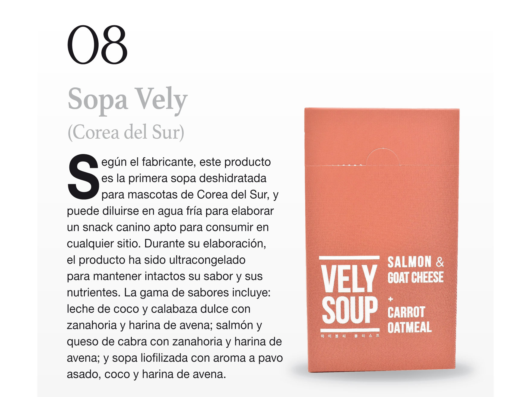 Sopa Vely (Corea del Sur)