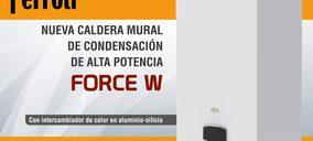 Ferroli lanza su nueva caldera FORCE W
