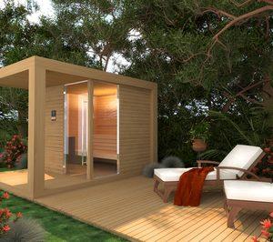Freixanet presenta un modelo de sauna exterior
