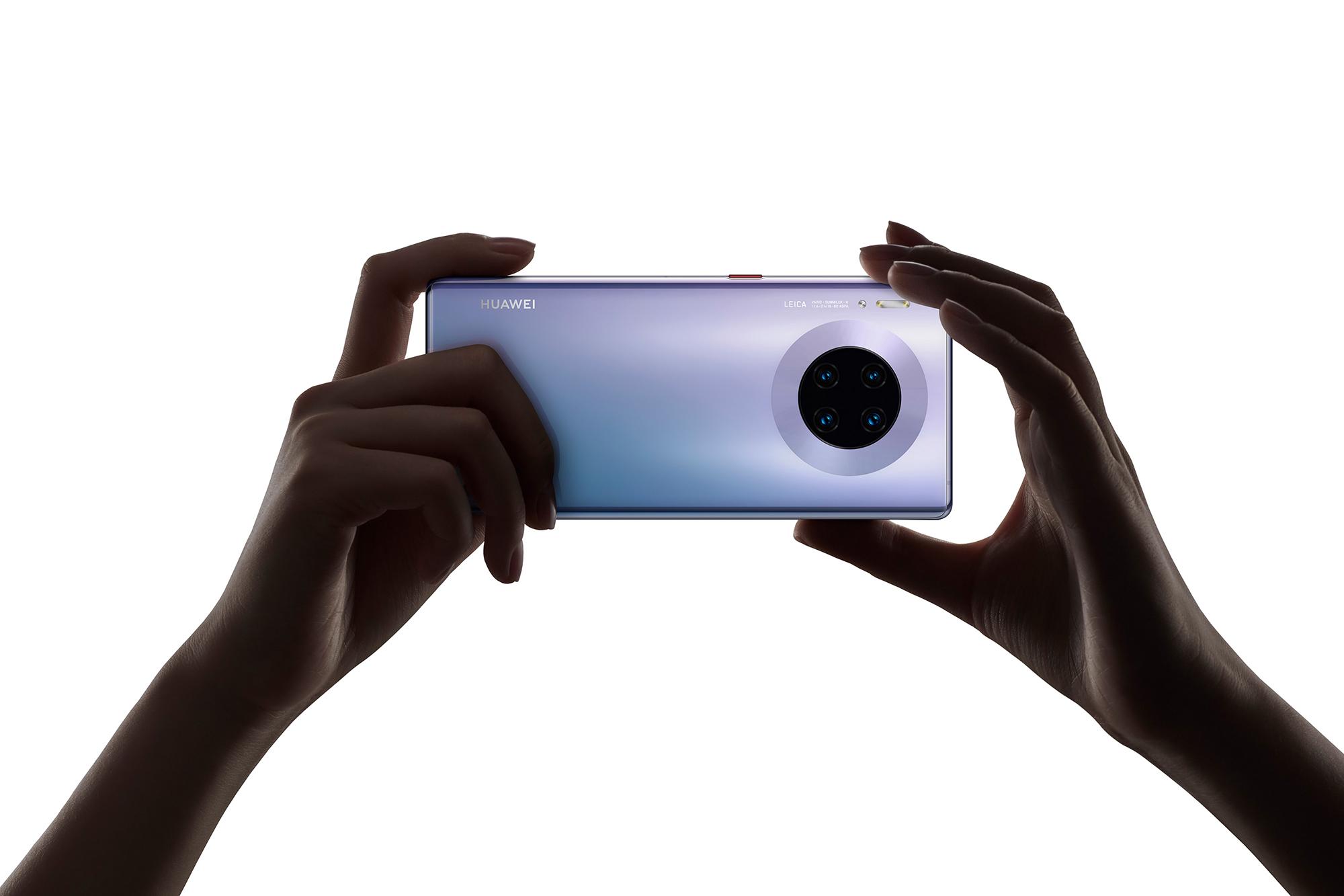 Huawei presenta el Mate 30, su primer smartphone post Google
