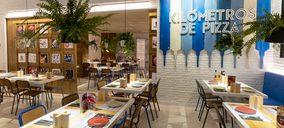 Kilómetros de Pizza estrena su sexto restaurante de servicio a mesa