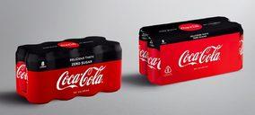 Coca-Cola cambiará el film retráctil por cartón en sus packs