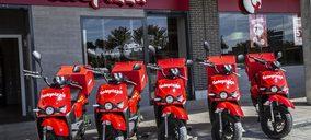 Telepizza incorpora motos eléctricas a su flota de delivery