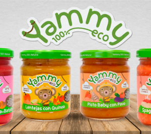 Yammy crece y entrará en nuevos nichos de alimentación infantil bio