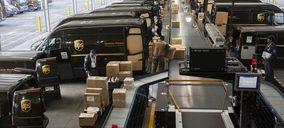 UPS España incrementa su actividad de paquetería por encima de otros operadores