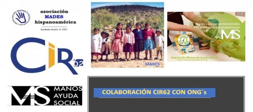 Cir62 colabora con Mades y Manos de Ayuda Social