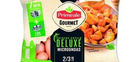 Primeale impulsa su presencia en la gran distribución con patatas microondables