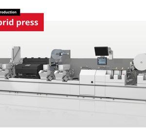 Bobst presenta su primera impresora híbrida integrada