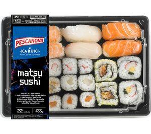 Nueva Pescanova-Kabuki ya dispone de siete plantas y sushi en 550 Mercadona
