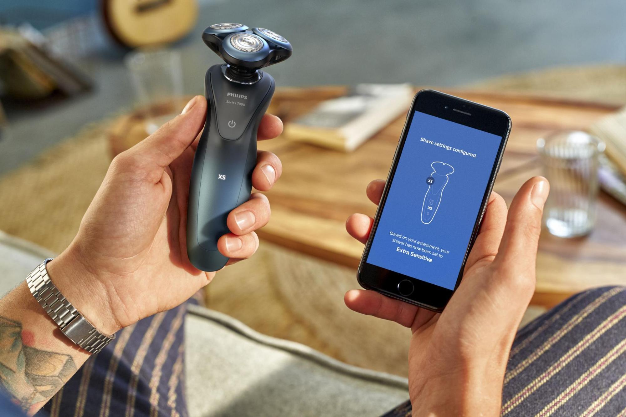 Philips ofrece afeitado basado en inteligencia artificial