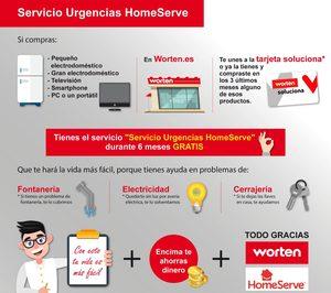 Worten premia a sus clientes con un servicio gratis de urgencias HomeServe