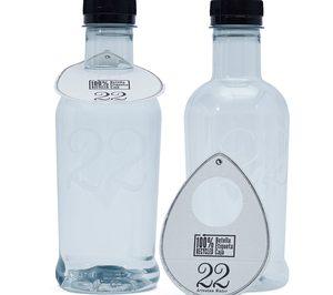 Vantguard lanza su agua prémium con un envase 100% r-PET