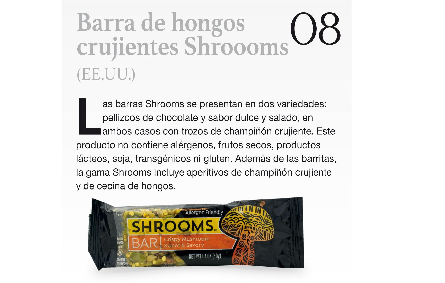 Barra de hongos crujientes Shroooms (EE.UU.)