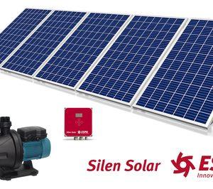 Espa presenta la bomba para piscinas Silen Solar