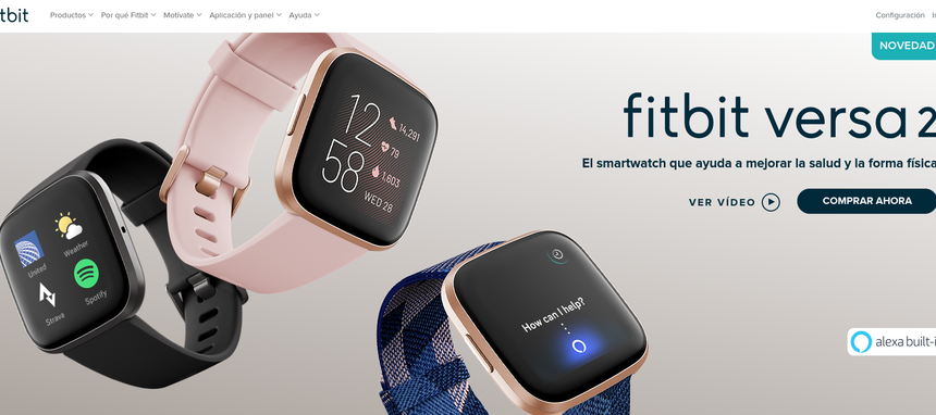 Fitbit Versa 2, nuevo smartwatch premium