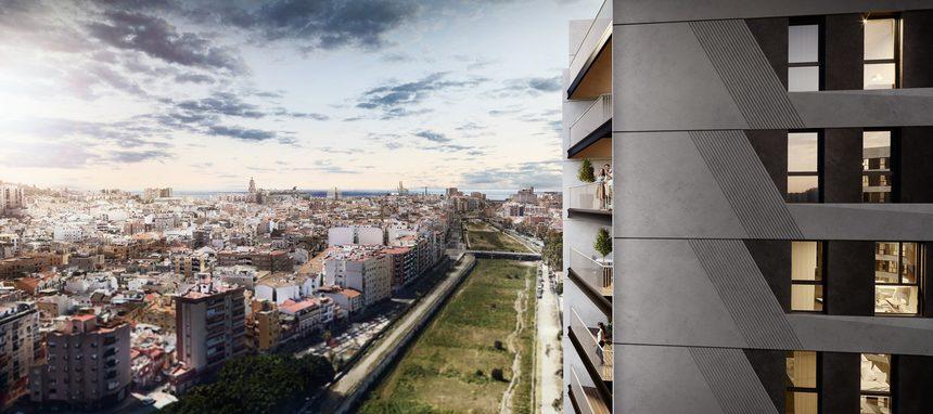 Avintia edificará las dos torres que AQ Acentor levantará en Málaga