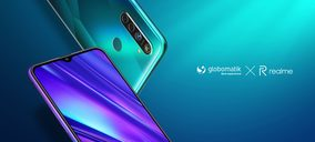 Globomatik amplía su catálogo de telefonía con los smartphones realme