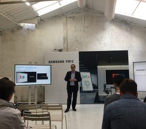 Samsung actualiza su pizarra digital con Flip 2