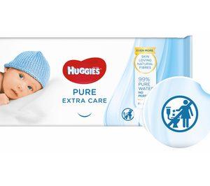'Huggies' fabricará toallitas 100% libres de plástico