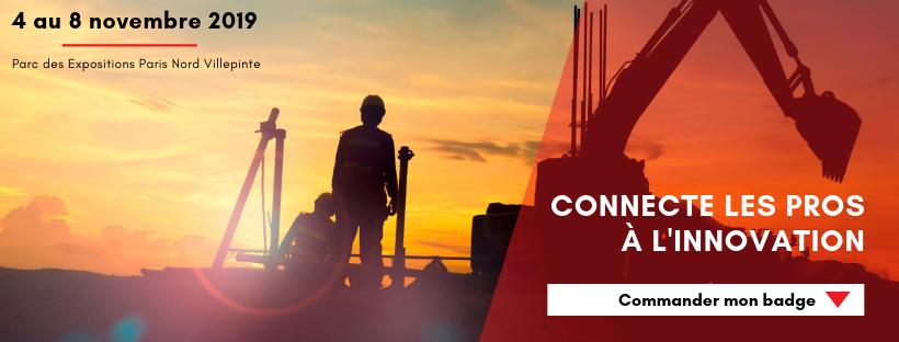 La construcción abordará sus grandes retos en Mondial du Bâtiment 2019
