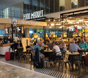 Ibersol inaugura un food market con cinco marcas en el aeropuerto de Alicante-Elche