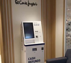 El Corte Inglés instala cajeros de devolución anticipada del IVA