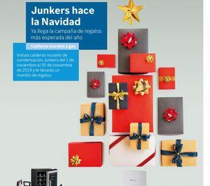 Junkers premia la instalación de su gama de calderas Cerapur