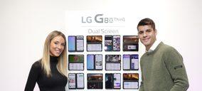 LG Electronics presenta su smartphone con dos pantallas LG G8XThinQ