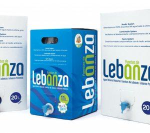'Fuentes de Lebanza' vuelve al mercado y apuesta por el agua mineral en bag-in-box