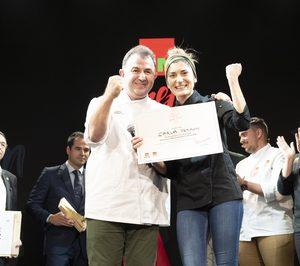 Carla Peyron, ganadora de la cuarta edición de GMChef Alimenta tu talento