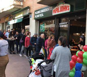 Papa Johns materializa aperturas en Barcelona y Valencia