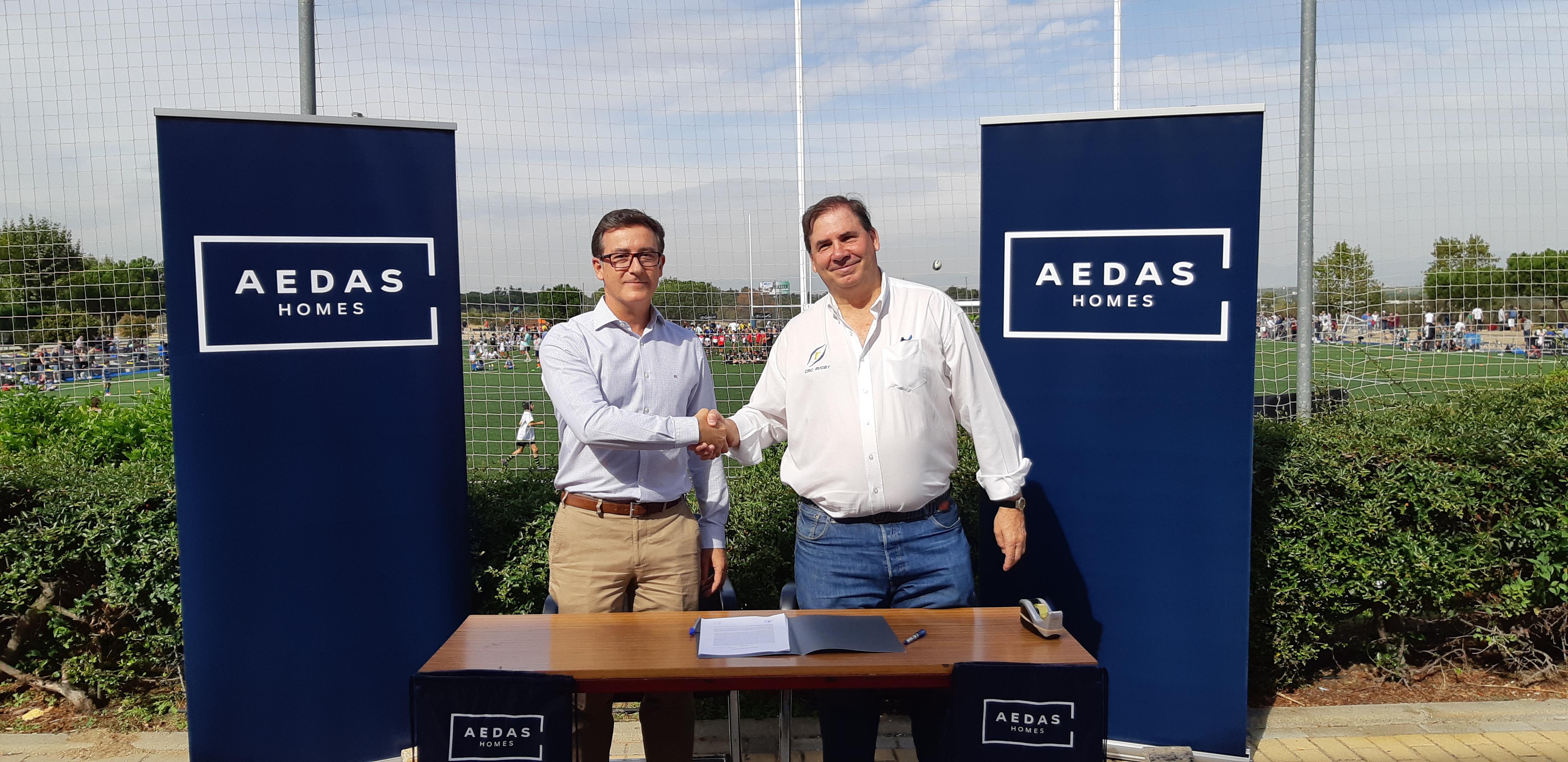 Aedas Homes, patrocinador principal del equipo de rugby CRC Pozuelo