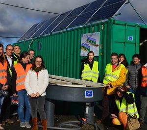 Huercasa trabaja en un proyecto pionero para depurar aguas residuales con algas