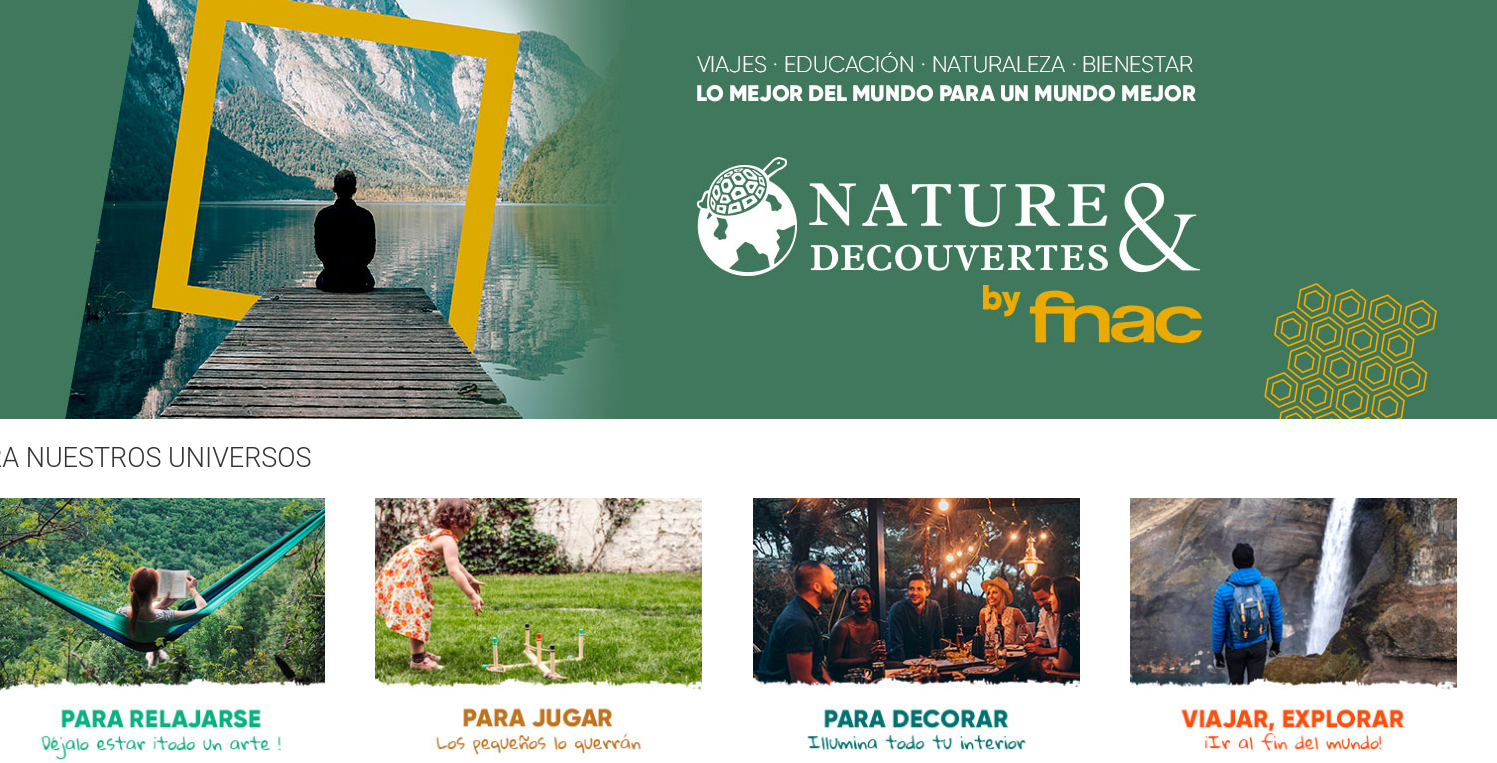 Fnac abre su shop-in-shop Nature & Découvertes de Barcelona