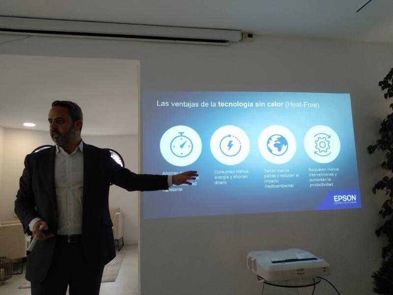 Epson apuesta por la sostenibilidad con sus impresoras 'Piezo' business inkjet