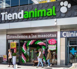 Tiendanimal llega a los 60 establecimientos de productos para mascotas