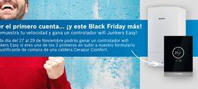 Junkers premia la velocidad y regala eficiencia en su campaña para el Black Friday