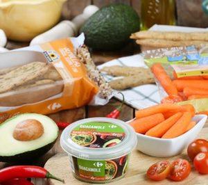 Carrefour incorpora una nueva variedad de guacamole a su marca propia