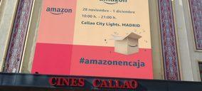Amazon abre su tienda efímera para la campaña de Black Friday y Ciber Monday