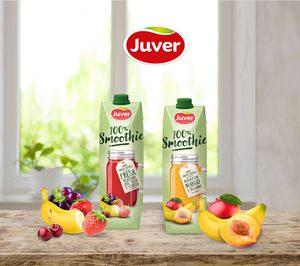 Juver profundiza en su tendencia healthy con 100% Smoothie